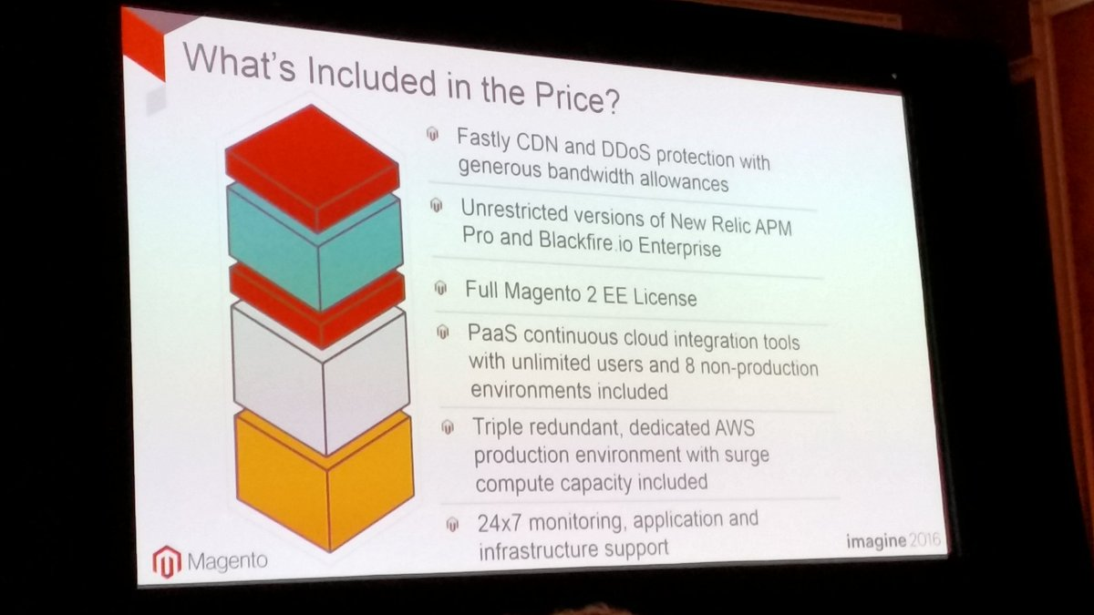 rlieser: Price TBA, but the package sounds nice. #MagentoImagine https://t.co/hLfUYovJTU