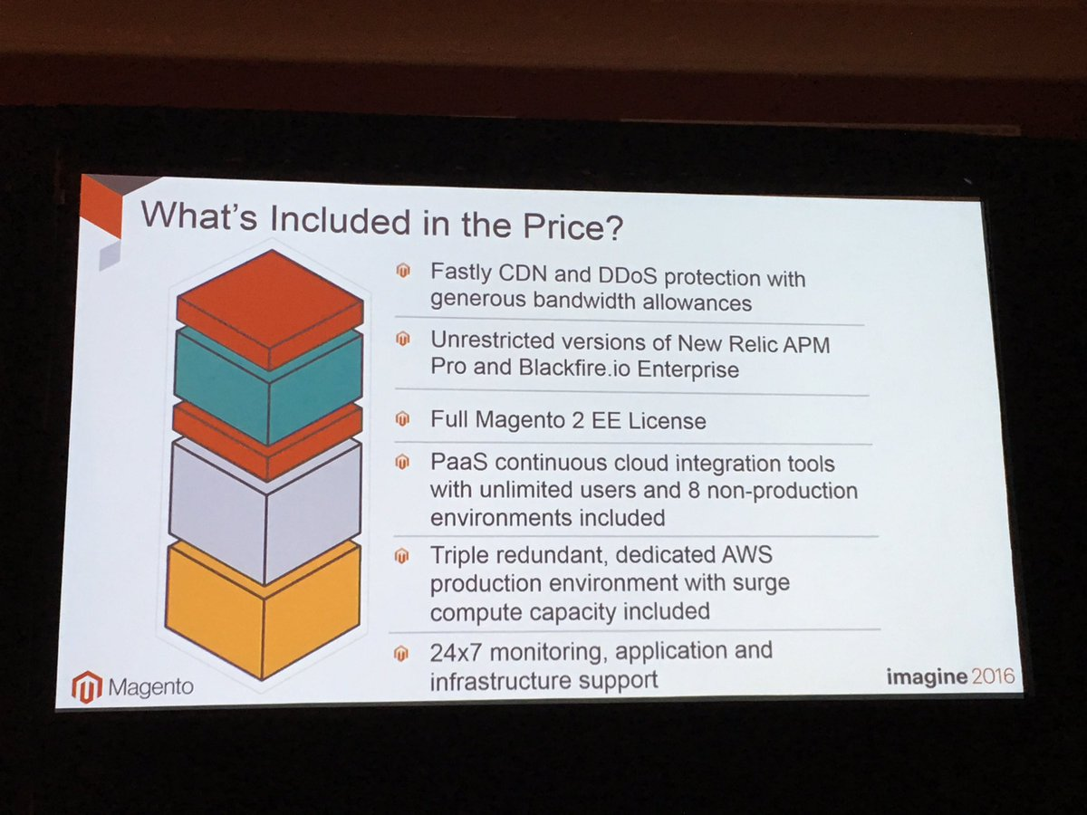 alexanderdamm: Magento Enterprise Cloud Edition License includes powerful services and infrastructure #MagentoImagine https://t.co/mZnGMp96x6