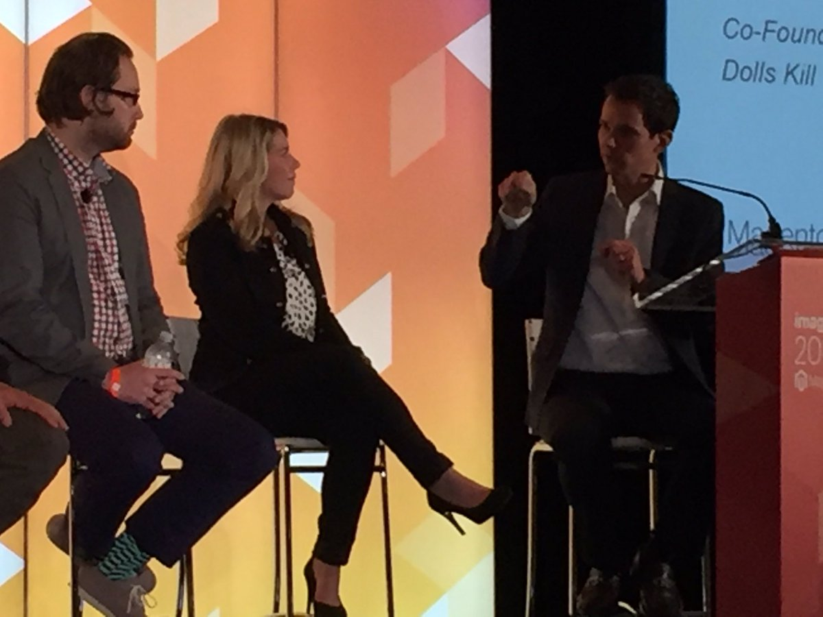 annhud: They don't want A something they want The something. They are buying into a #brand. @brpressley #MagentoImagine https://t.co/znQlUO9flJ
