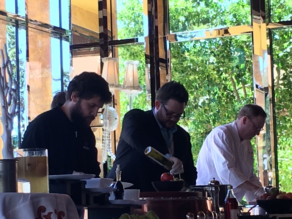 brentwpeterson: Is there end to @philwinkle and @mbalparda talent? Now they are master chefs #MagentoImagine https://t.co/JQnaN60XlF