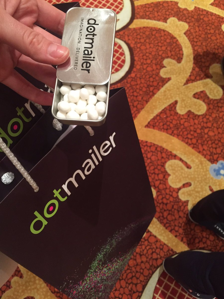 vaimoglobal: Visit the email marketing experts at @dotmailer booth at #MagentoImagine (also their mints rock) https://t.co/7WcTYdrj0D