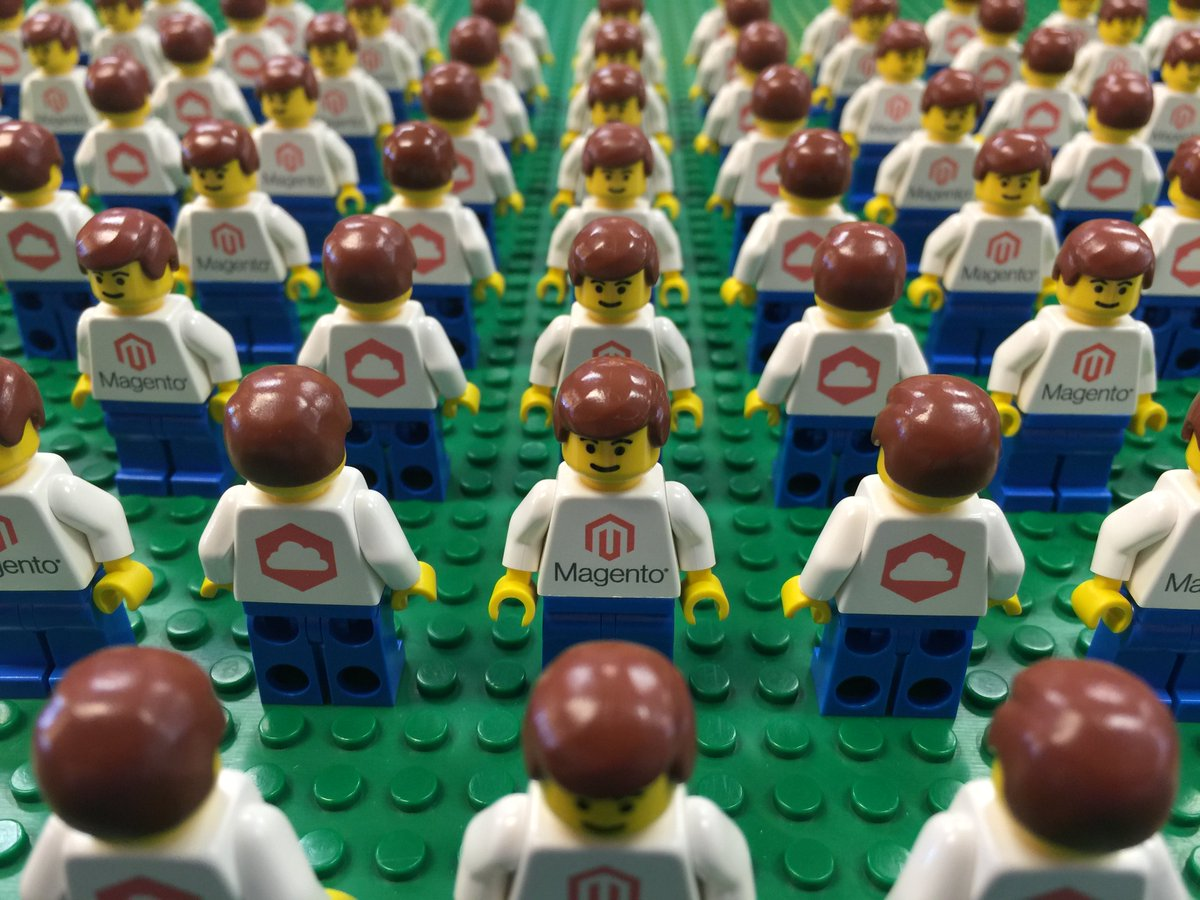 magento: When we tweet a Trivia Q & u have the answer, be the 1st to the #MagentoCloud lounge to get a #Lego #MagentoImagine https://t.co/s3BY4iwCU8