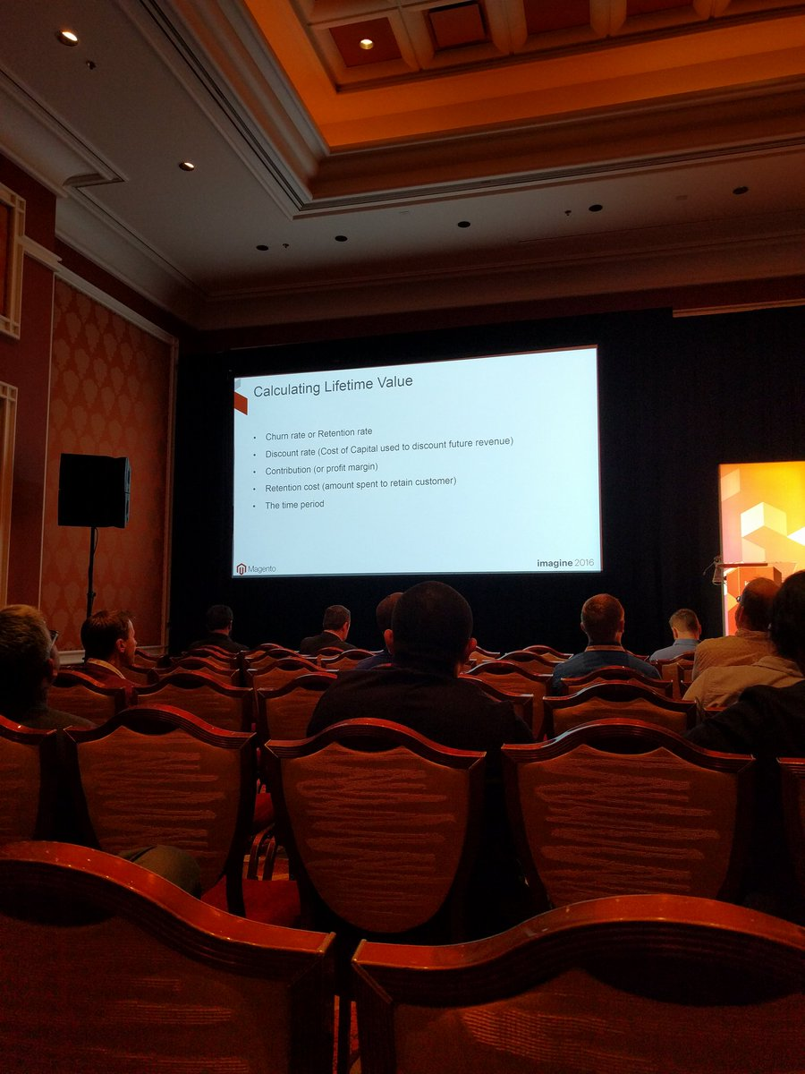 crduffy: Calculating customer lifetime value #MagentoImagine https://t.co/peUN7k0peI