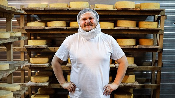 A man dreamt of a creamery but couldn't compete with EU imports. Then Russia annexed Crimea