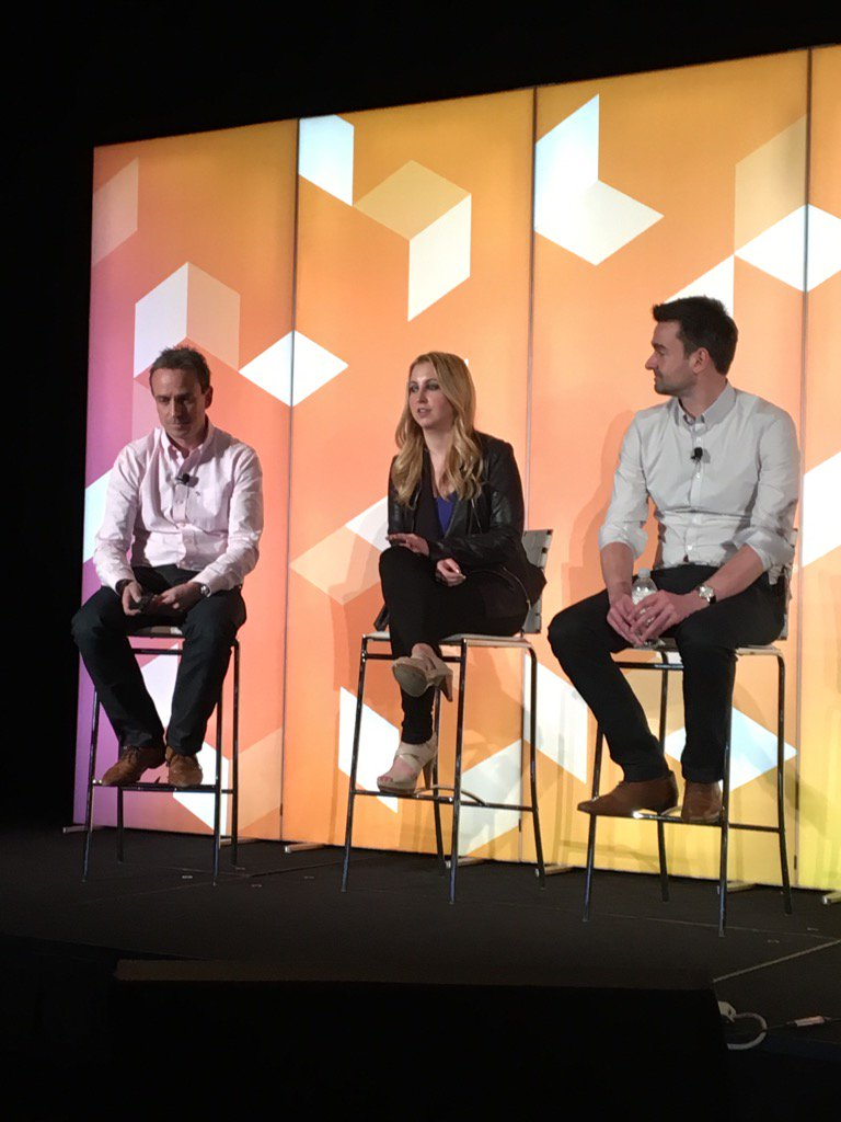 JoyDaniels: #MagentoImagine @dotmailer panel covering CX https://t.co/JsYoeBqysX