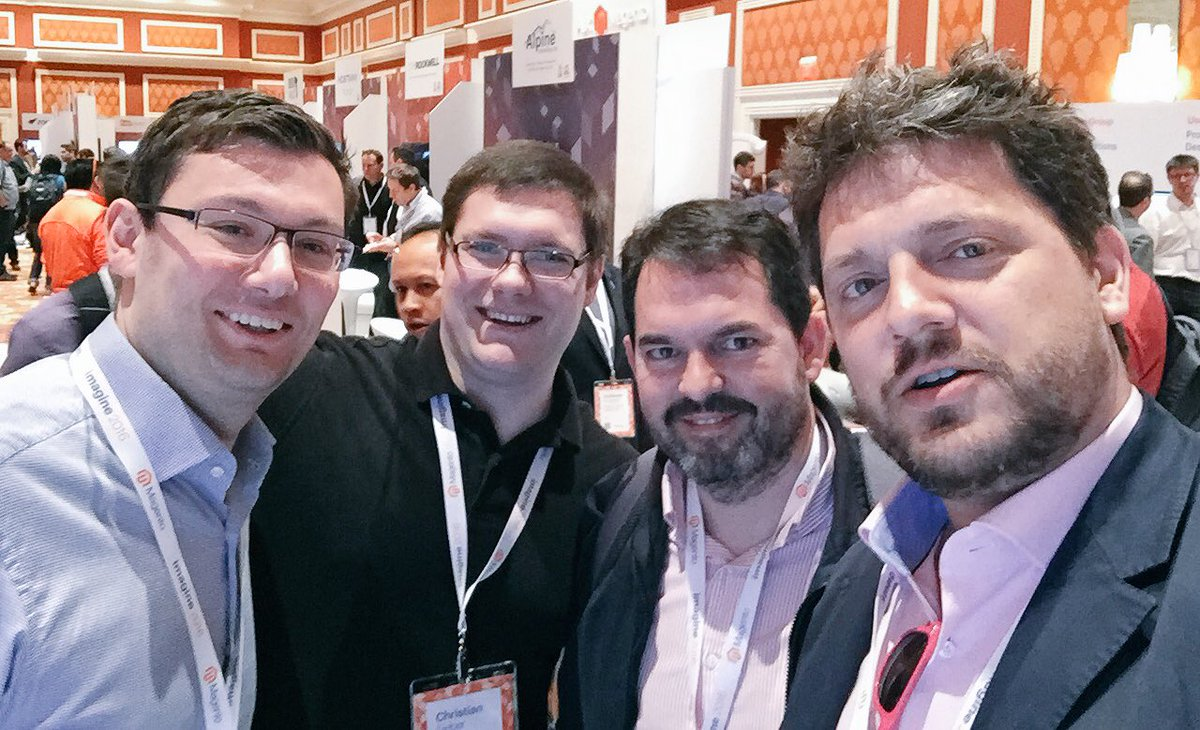 ignacioriesco: We were taking a deep look of the brand new @Magento Enterprise Cloud Edition and looks AWESOME. #MagentoImagine https://t.co/YGCgj66jQd
