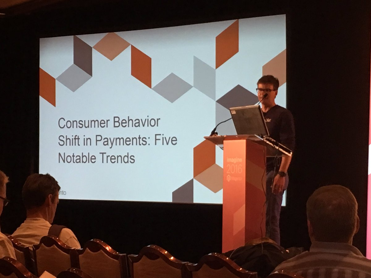 altima_na: @AuthorizeNet presenting trends in online payments #MagentoImagine https://t.co/CHJHaZQFce