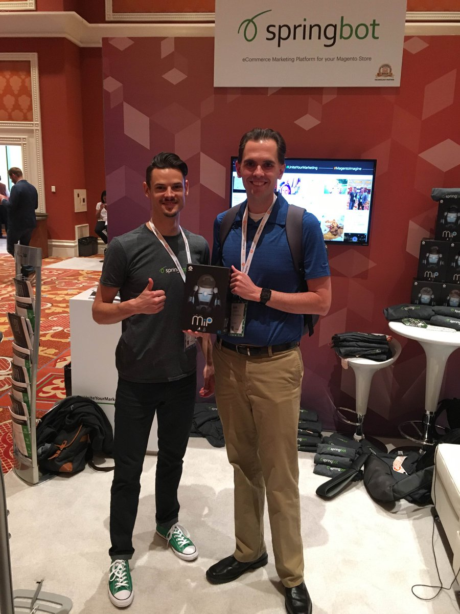 springbot: Congrats to Josh from @Petra_Specials on winning a @WowWeeWorld at #MagentoImagine https://t.co/KztNFcNpbk