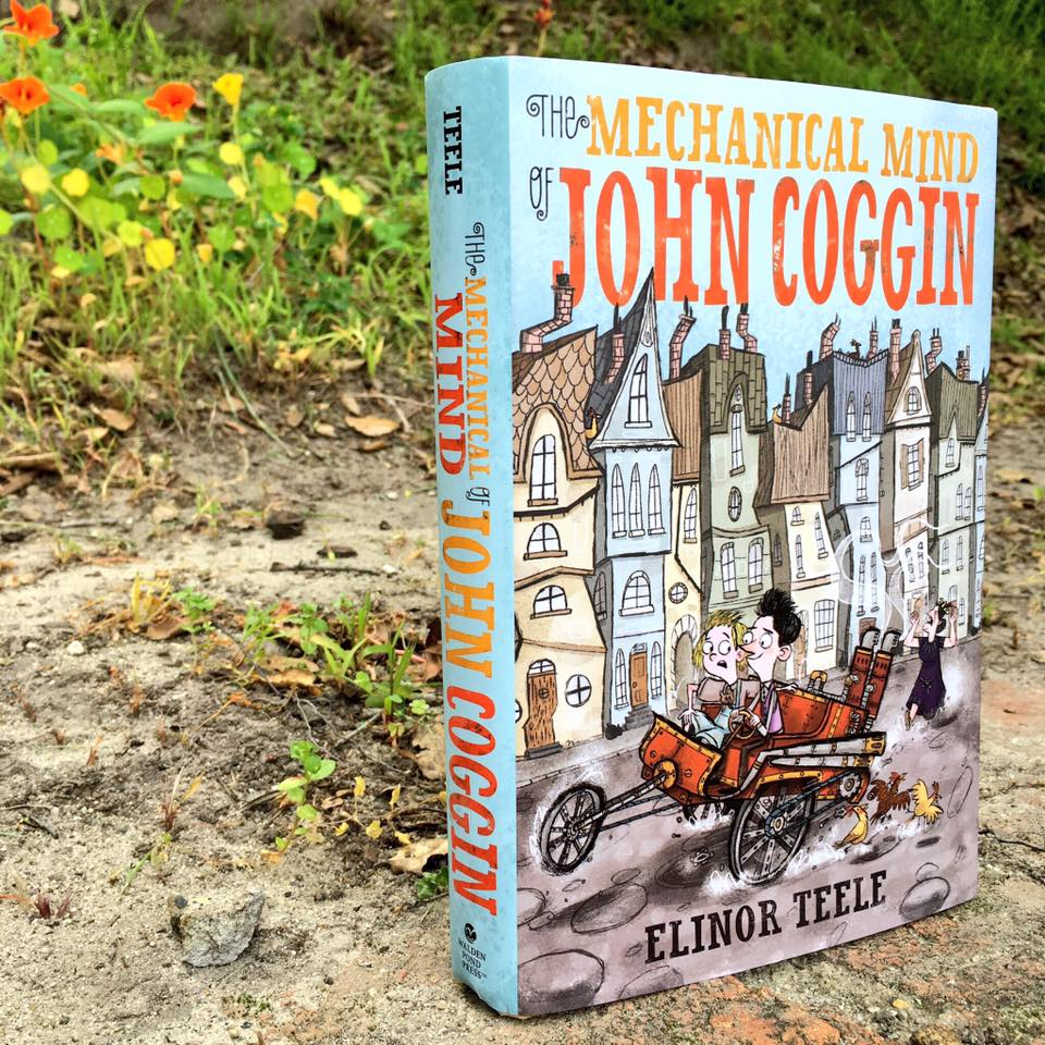 THE MECHANICAL MIND OF JOHN COGGIN by debut Elinor Teele is out today! RT for your chance to win a copy! #giveaway https://t.co/8YnG1Nk6dj