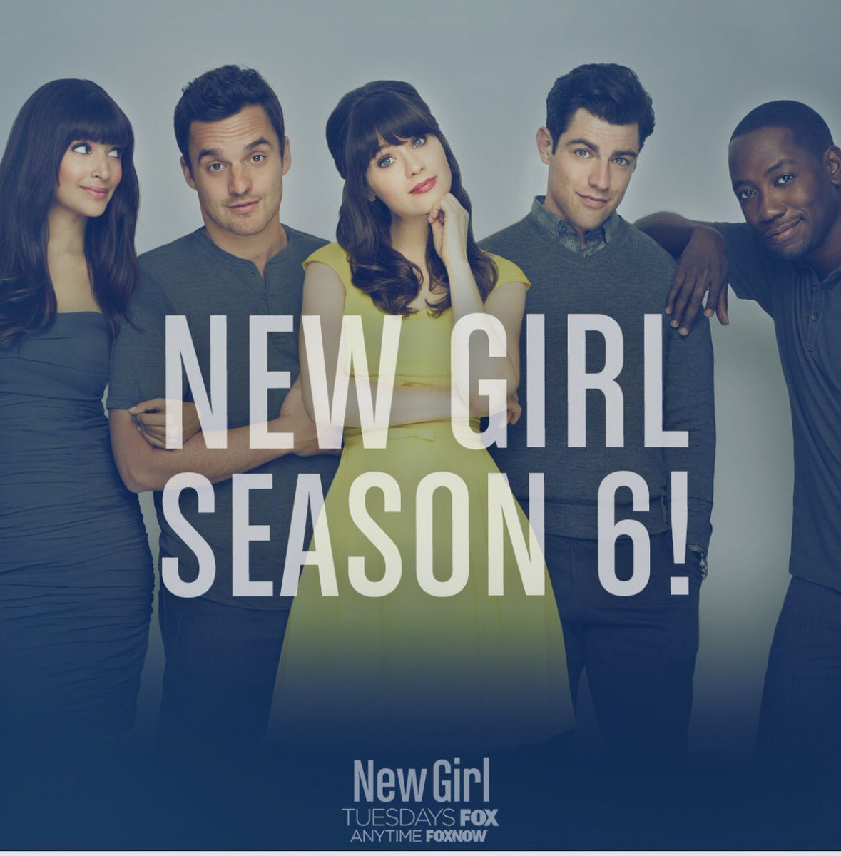 It's official! #NewGirl is coming back for season 6! https://t.co/Qtv3wYHqHu