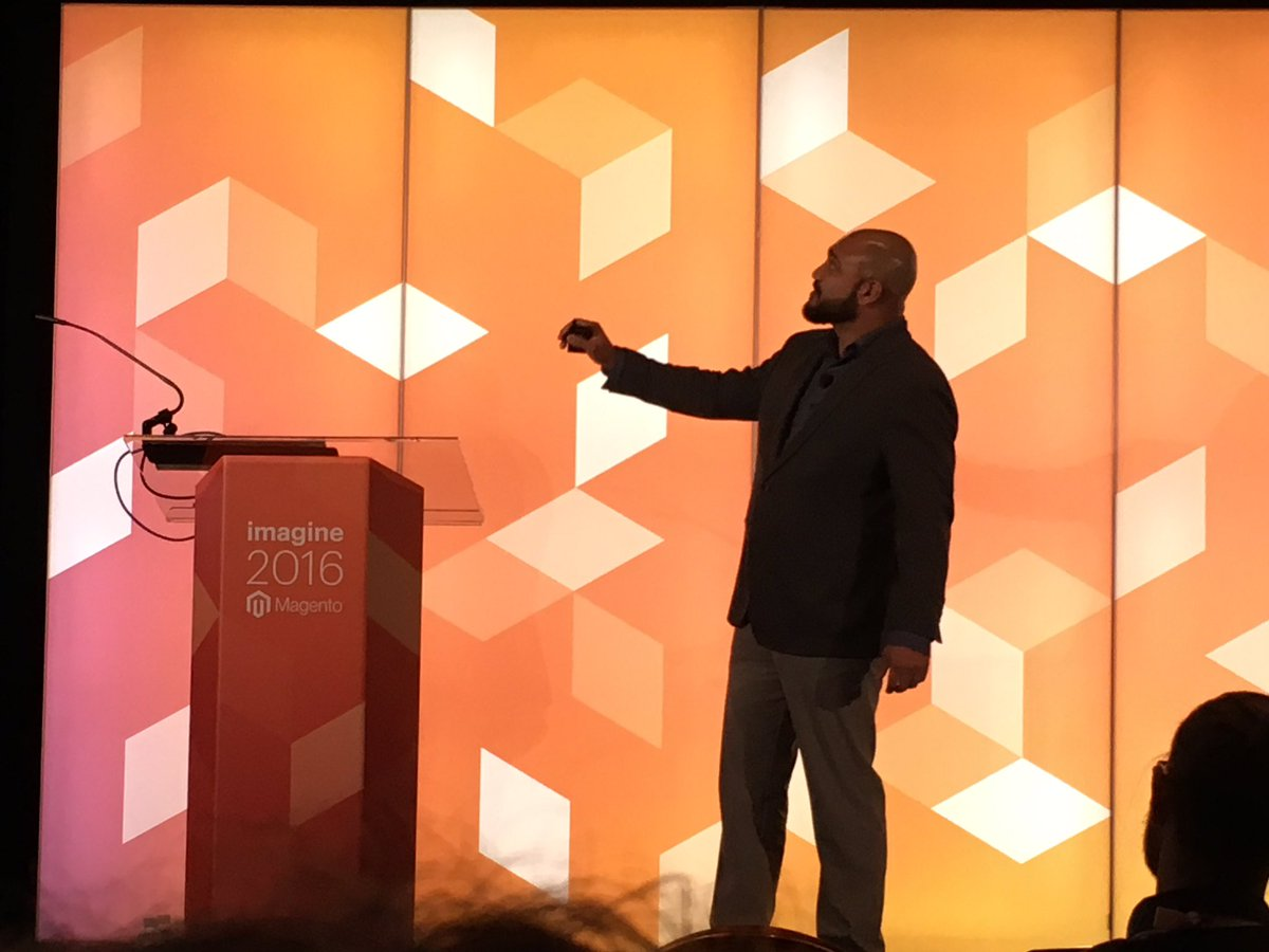 VinaiKopp: @_Talesh on Stage! #MagentoImagine https://t.co/YInFU5mM9A