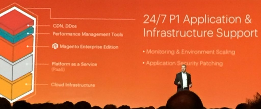 DCKAP: Taking scalability and performance to a whole new level. Rock on @magento! #MagentoImagine https://t.co/GoRgceVTEj