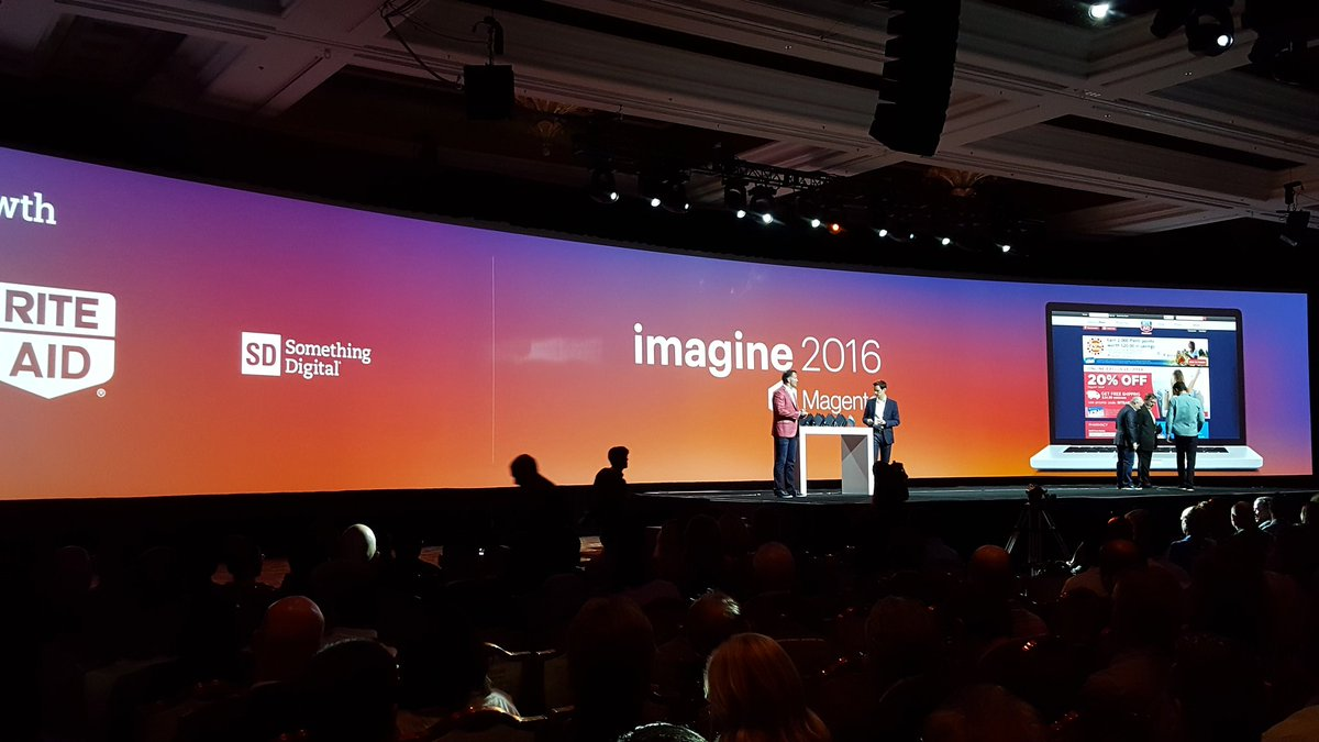 magento: Congrats to the winners of the #Growth Award! @riteaid @SomethingDigitl #MagentoImagine https://t.co/XcUyiIEJQR