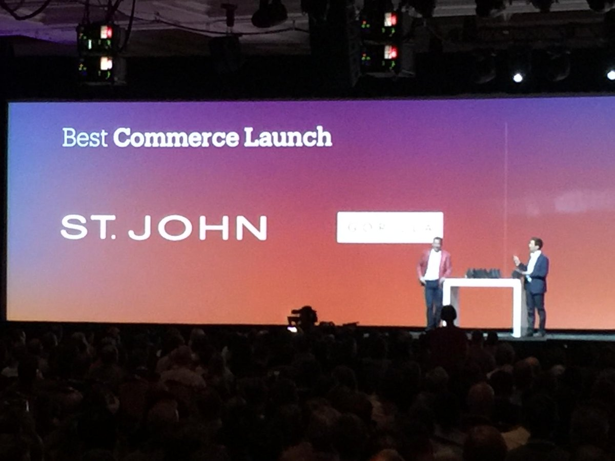 art_boyd: Congrats @GorillaCommerce for best commerce launch #MagentoImagine https://t.co/ULa1QdV76P