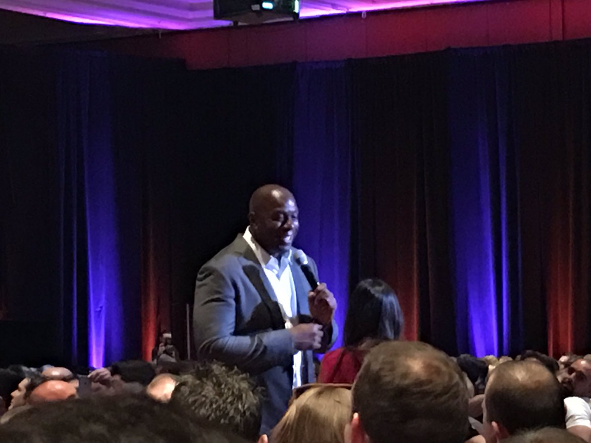 BrettCurry: Listening to the legend @MagicJohnson at #MagentoImagine - awesome! https://t.co/tGA0tmAoX7