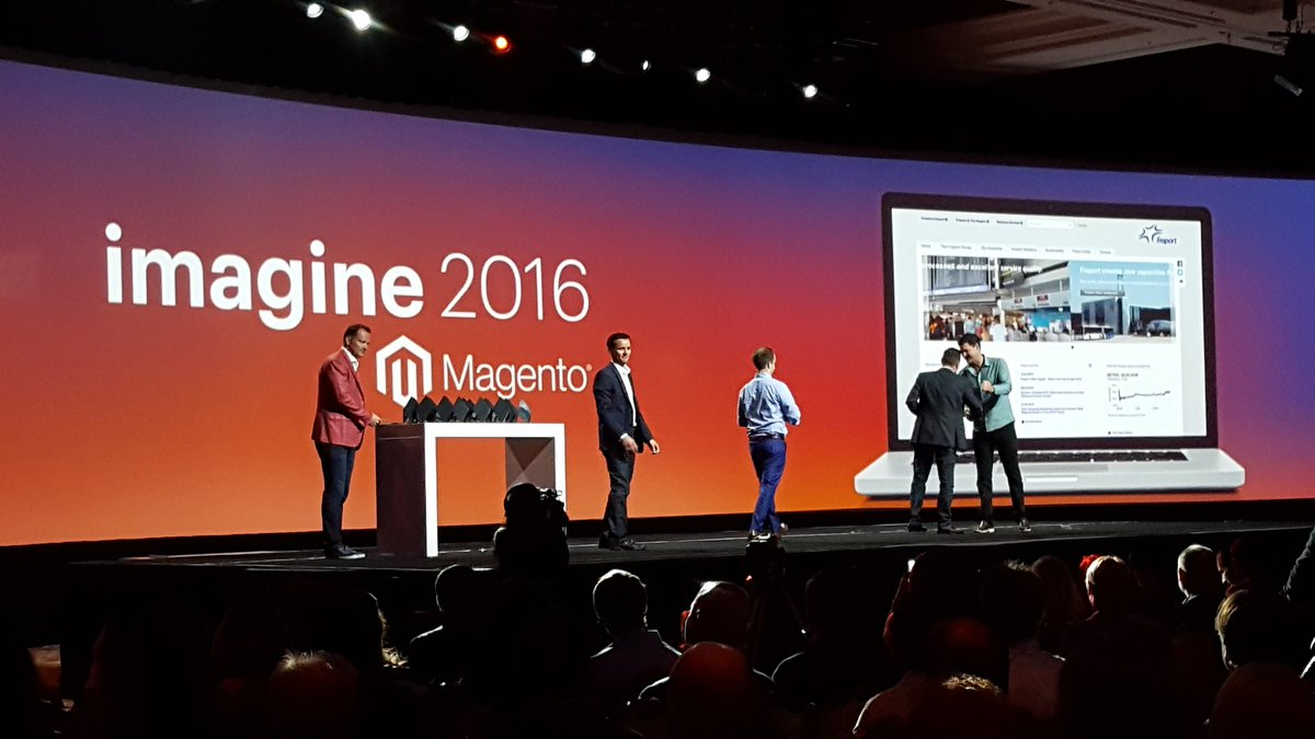 magento: Congrats to the winners of the Best #Omnichannel Experience Award! Fraport @Airport_FRA @aoepeople #MagentoImagine https://t.co/B9JtKNSuHH