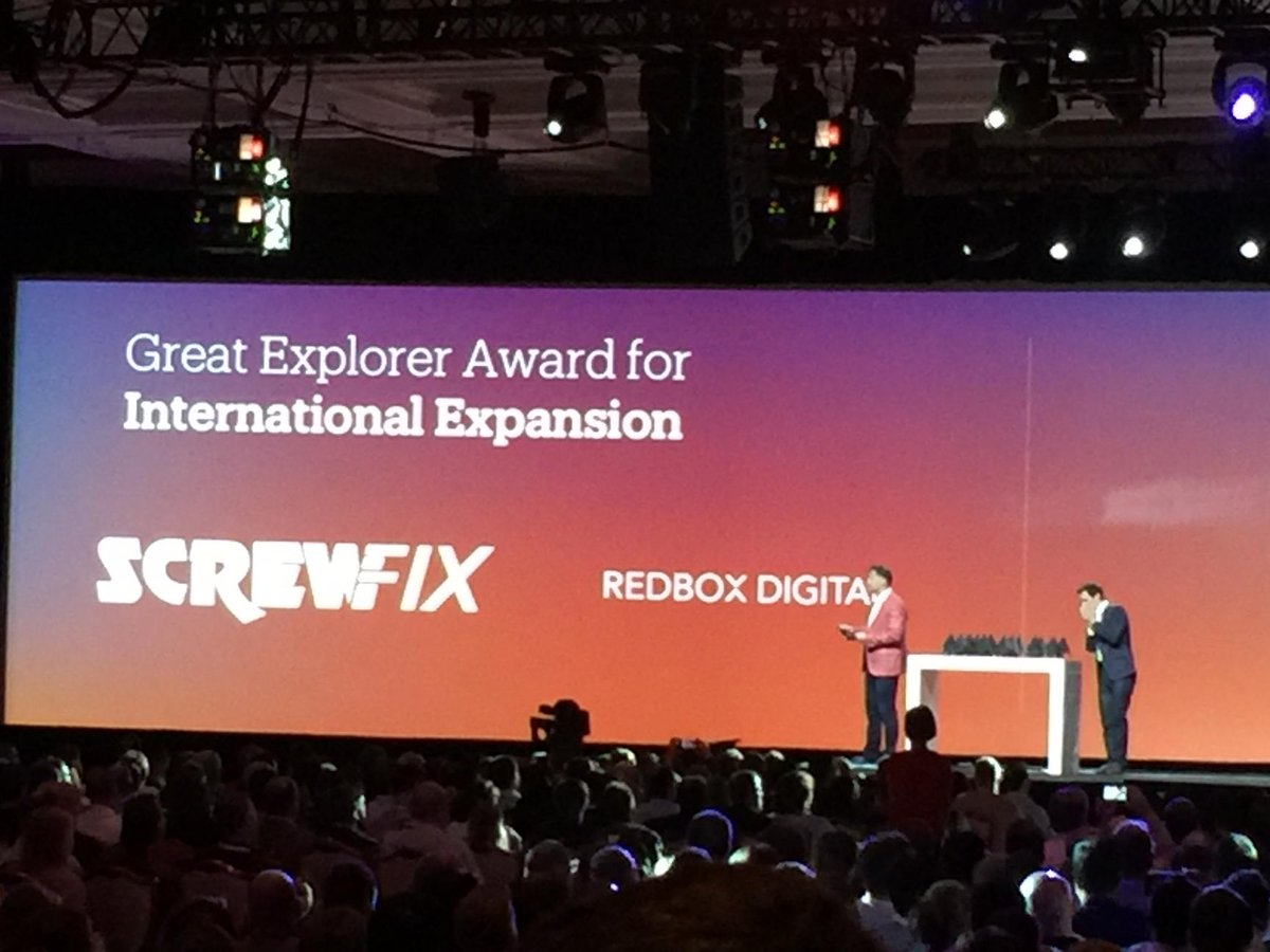 art_boyd: Congrats @redboxdigital for best international expansion! #MagentoImagine https://t.co/vJq2ldLal7