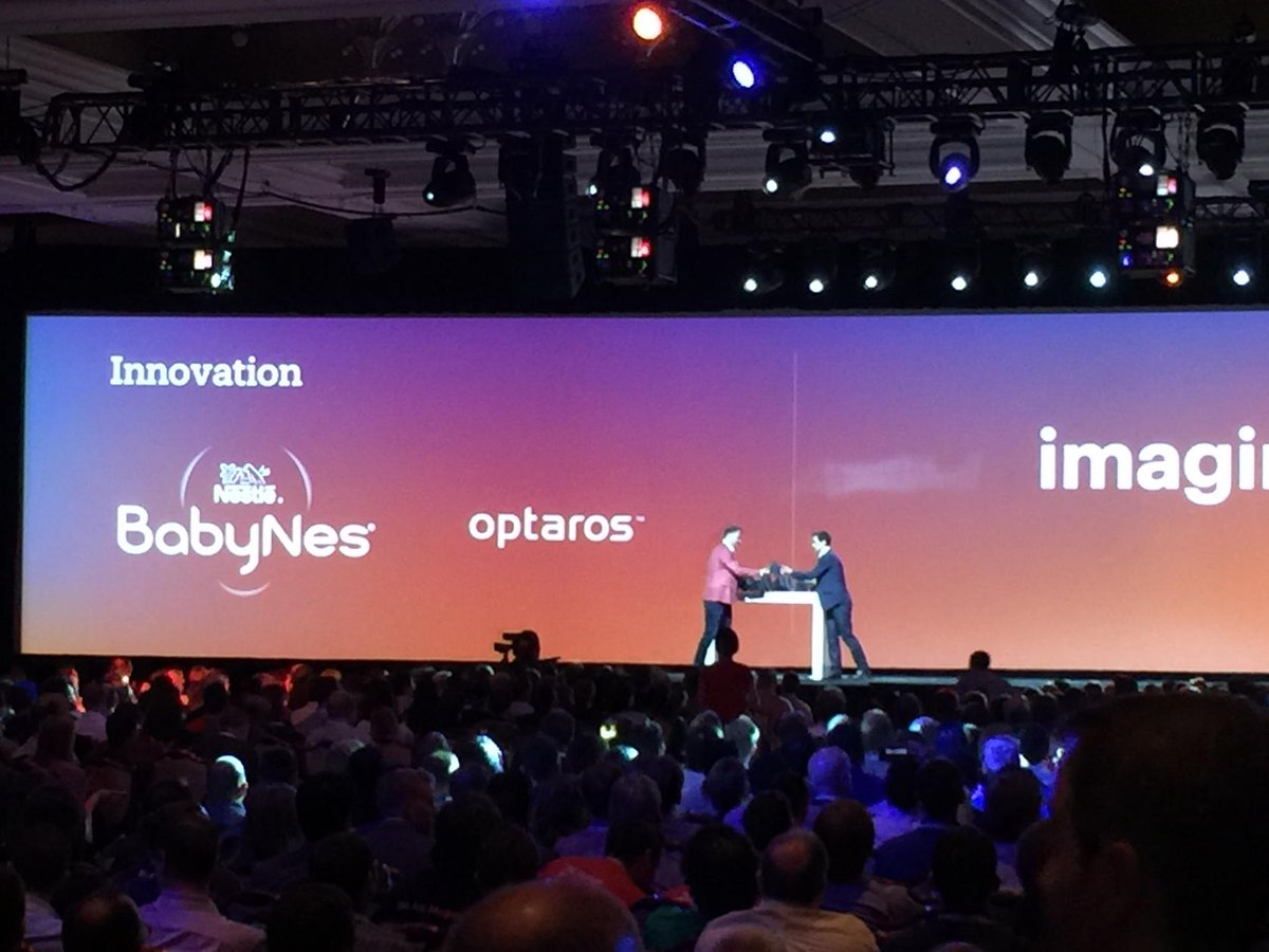 art_boyd: Congrats @Optaros for best innovation! #MagentoImagine https://t.co/TwjvpqwZVh