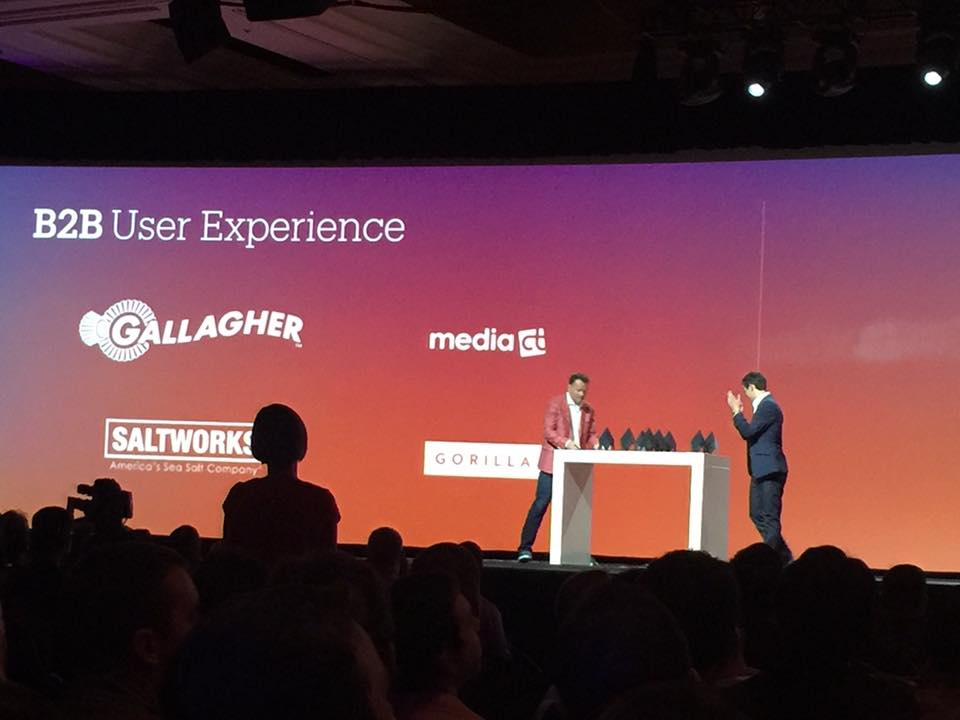 magestore: Congrats @Gallagher @mediact @SaltWorksInc for B2B User Experience awards!n#MagentoImagine https://t.co/6IjJmaswRc