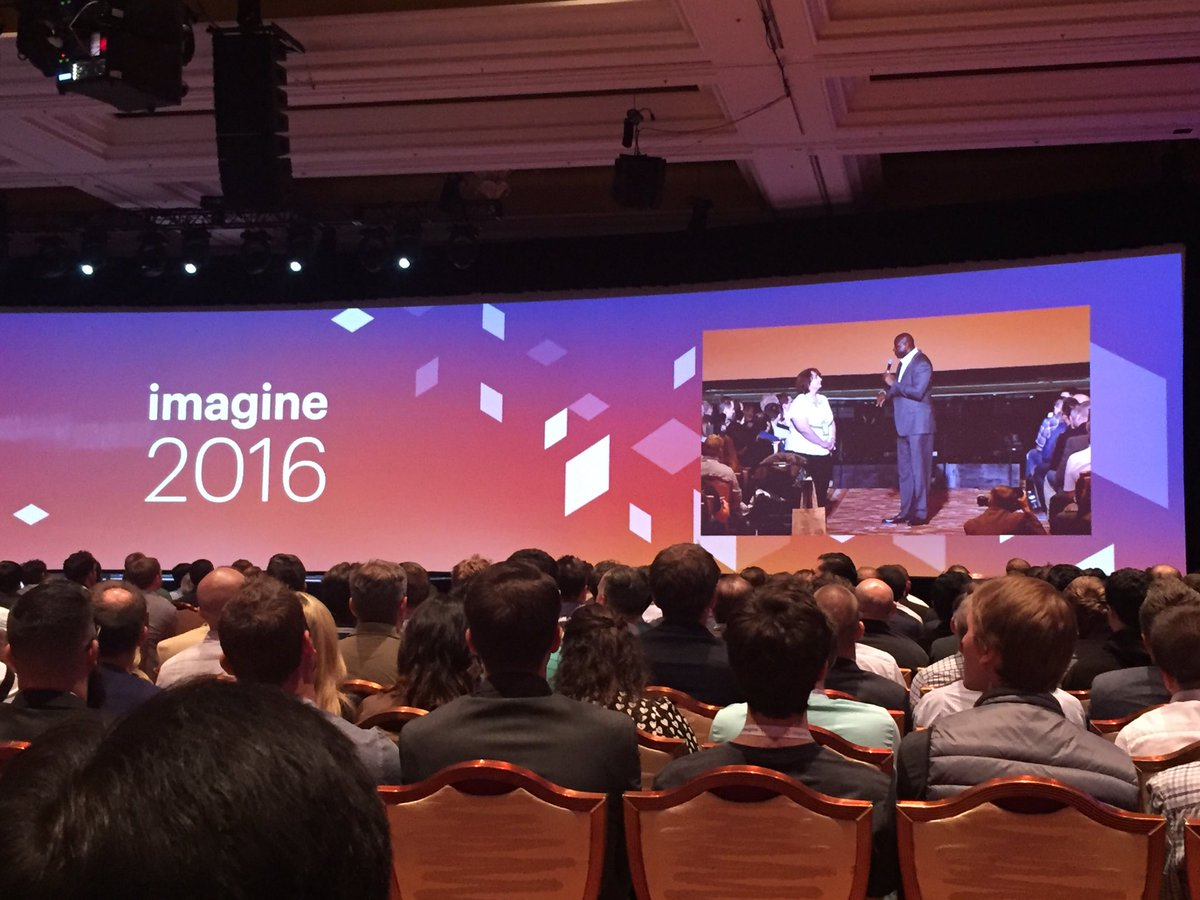 annhud: You have to understand your customer base & over deliver to them. Ex:@MagicJohnson's urban Starbucks #MagentoImagine https://t.co/8UjqiQkASa