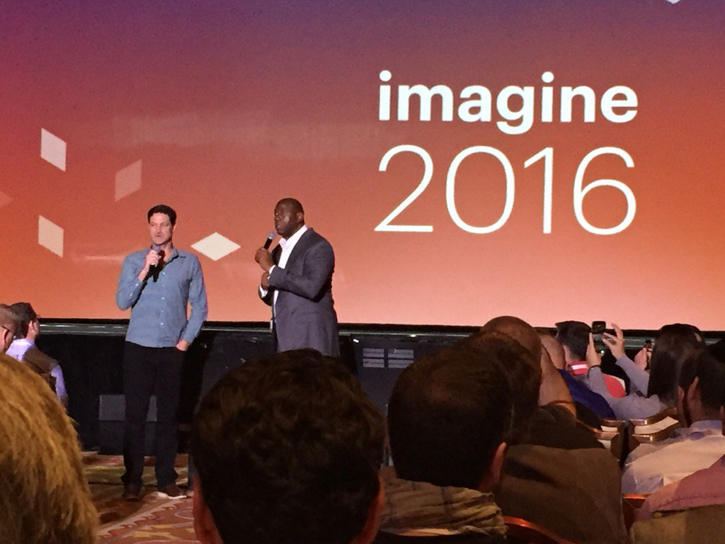 jamesdhorne: Mark is almost as tall. Great Interview. #MagentoImagine https://t.co/29SYukJMNO