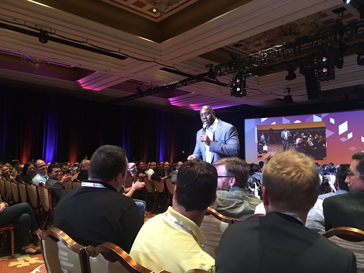 ebizmarts: You have to make your employees better <<< @MagicJohnson #MagentoImagine https://t.co/IM0x1RHTbT