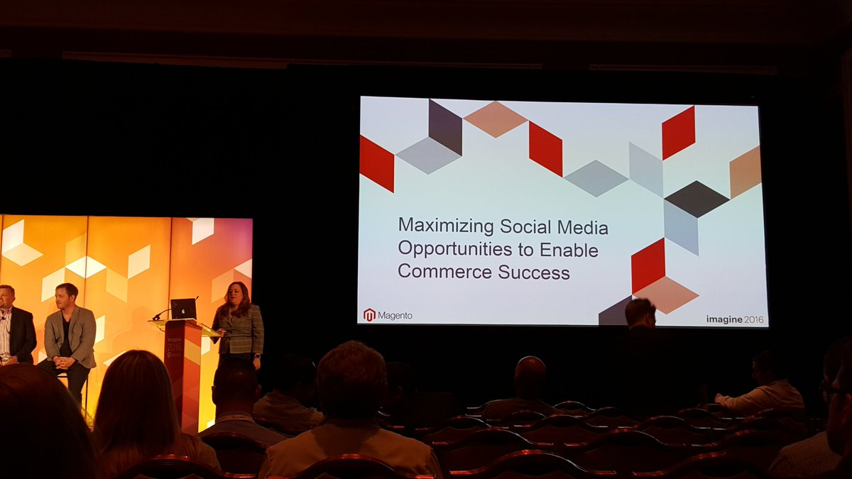 onestepcheckout: Starting now Mouton 1 room, learning from the best! @magentogirl #MagentoImagine #socialmedia https://t.co/IRVyl9xC2x