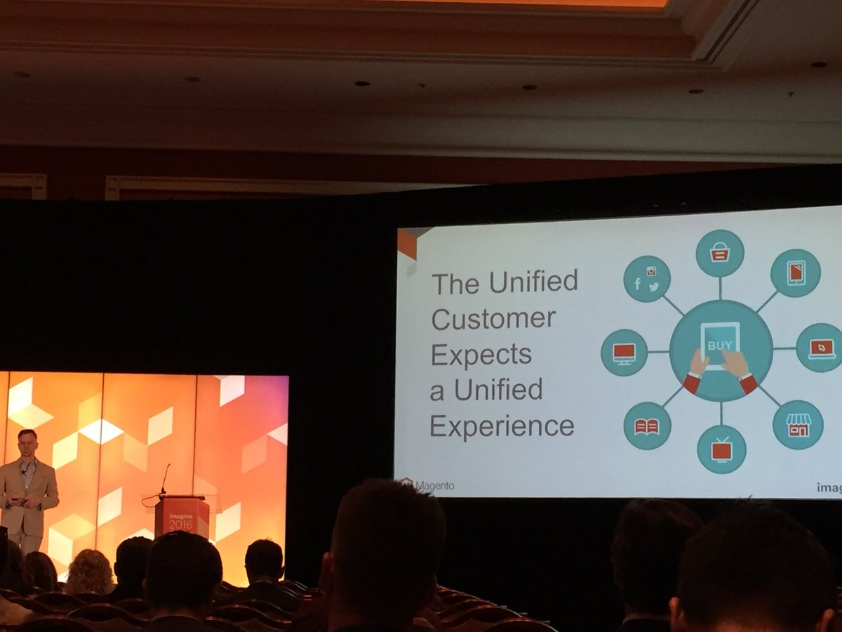 DigitalFusionHQ: Great Conference 👏🏼  @magento #MagentoImagine https://t.co/DDrzTyclrD