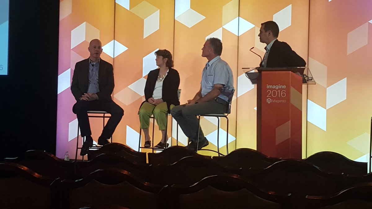 magento: Talking B2B mobile priorties w/ @Zoetis  @SureGripShoes @SaltWorksInc #MagentoImagine https://t.co/tHEkrnBbCJ