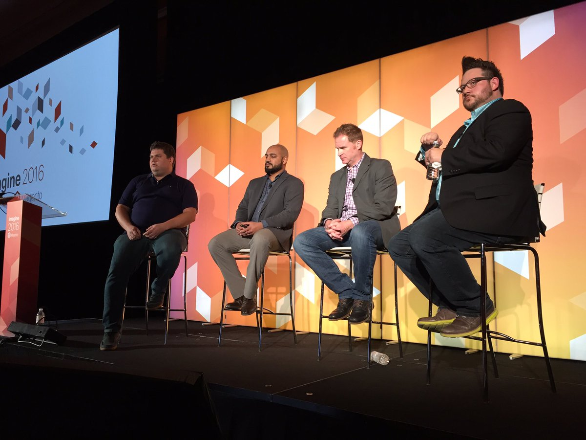 sherrierohde: 'Prioritize security the same way you would for other parts of your business.' @piotrekkaminski #MagentoImagine https://t.co/pSsiJtEcjT