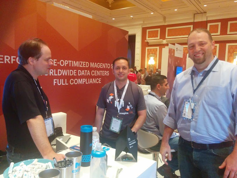 nexcess: It's always great reconnecting with old friends and meeting new friends at #MagentoImagine! https://t.co/yoI2zXLqWT