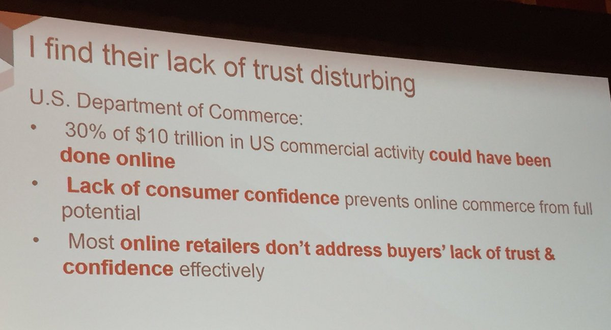 annhud: Lack of consumer confidence prevented 3 TRILLION dollars of business from being done online #TRUST #MagentoImagine https://t.co/bmi134jIEU