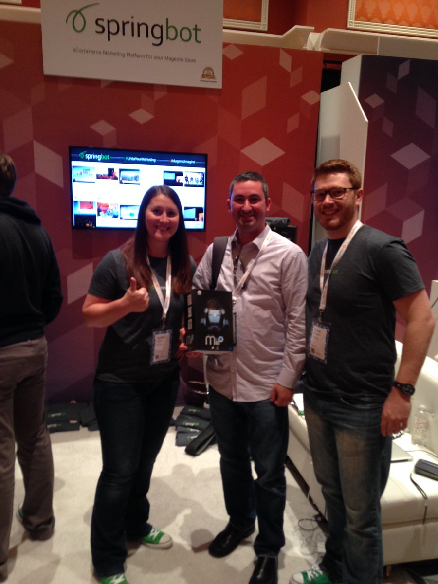 springbot: Another happy winner of the @WowWeeWorld at #MagentoImagine. Thanks for stopping by! #UniteYourMarketing https://t.co/nK2LkIGJb0