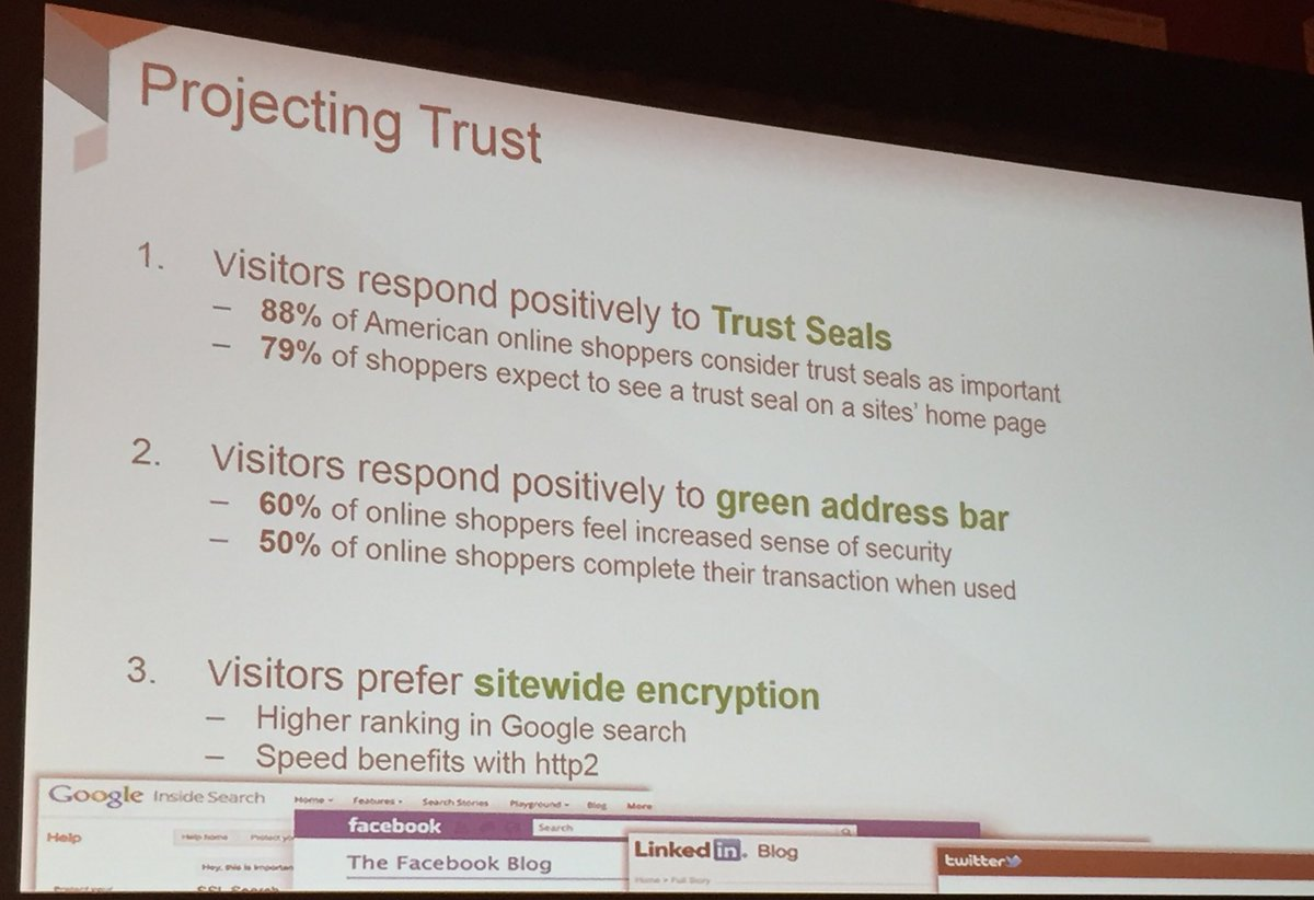 annhud: Google gives a 5% uplift in search ranking for sitewide encryption #TRUST #MagentoImagine https://t.co/sjIzyw8K9P