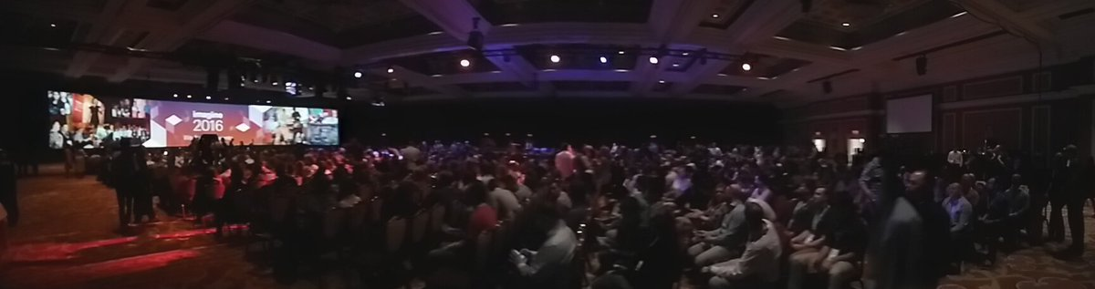 tutnix: Quite an audience waituon for keynote 2 at #MagentoImagine https://t.co/OpaII60lwt