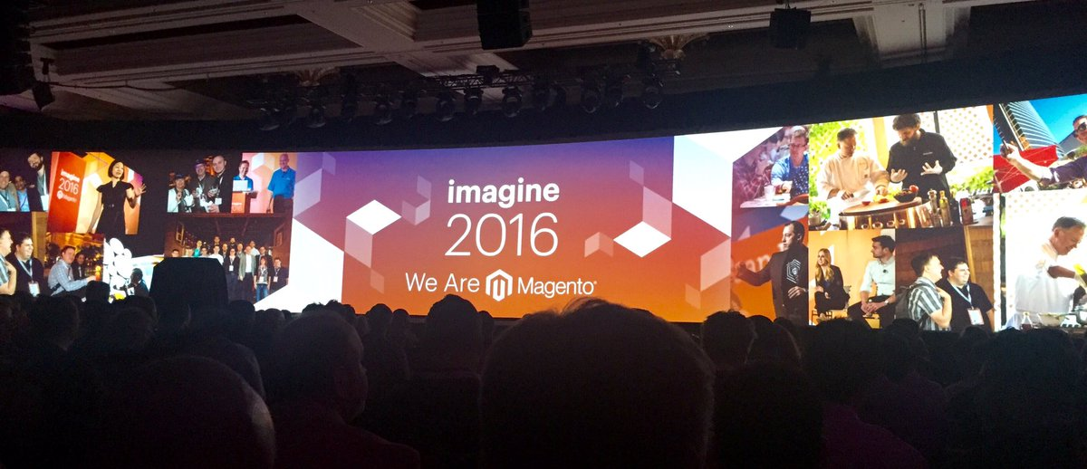 redboxdigital: Excited to watch second keynote speech with @MagicJohnson #MagentoImagine https://t.co/eZP17EHGXU