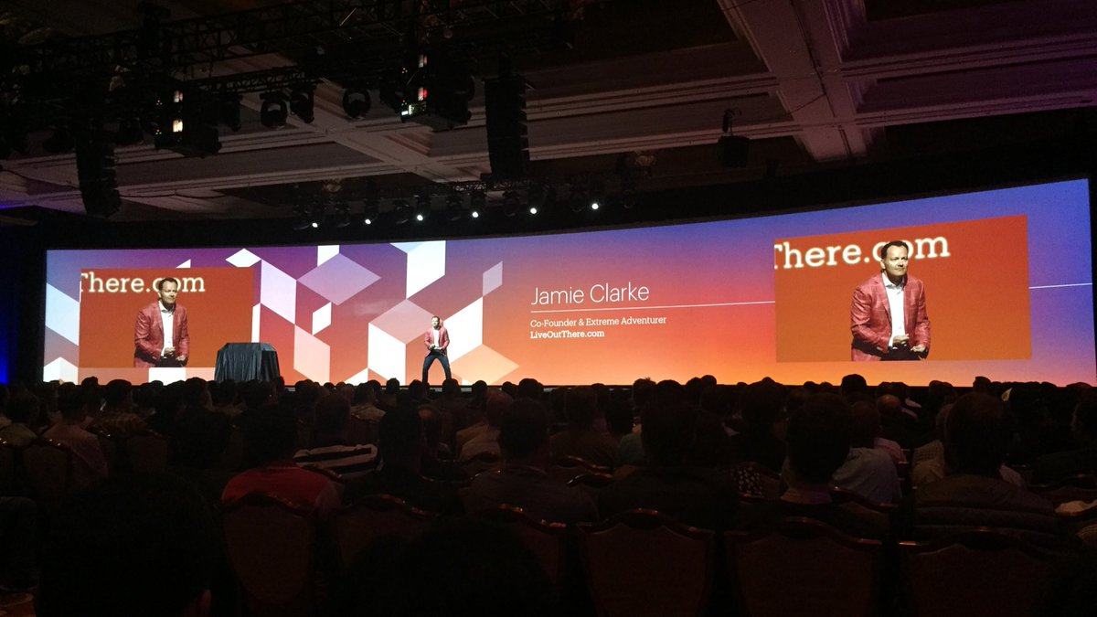 annhud: Jamie Clark is an epic comedian and spokesperson. I'm a @JC_Climbs fan  #MagentoImagine https://t.co/bezUK5zNlf