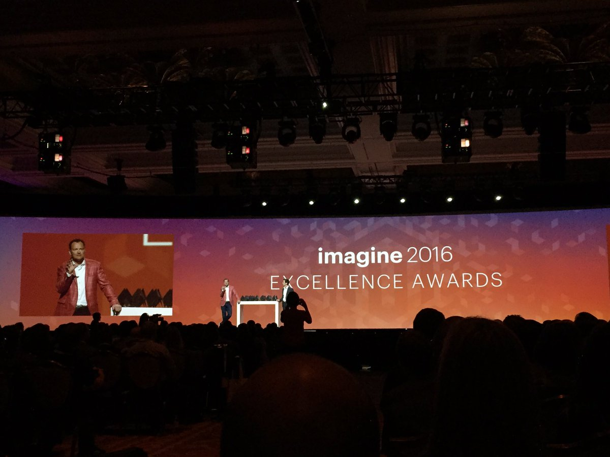 magento_rich: #MagentoImagine 2016 excellence awards. https://t.co/hcX8WIZRl6