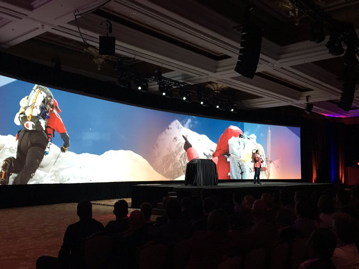 magento: 'Is Magento a Swiss Army knife? No! It's an Ice Axe!' @JC_Climbs #nextlevel #MagentoImagine https://t.co/tjMQ3gvwIL