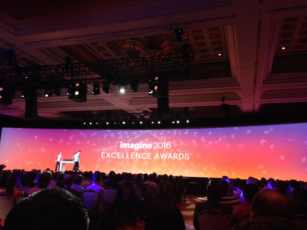 SheroDesigns: #Magento Excellence Awards 2016 #MagentoImagine @magento https://t.co/pptHCBVYJQ