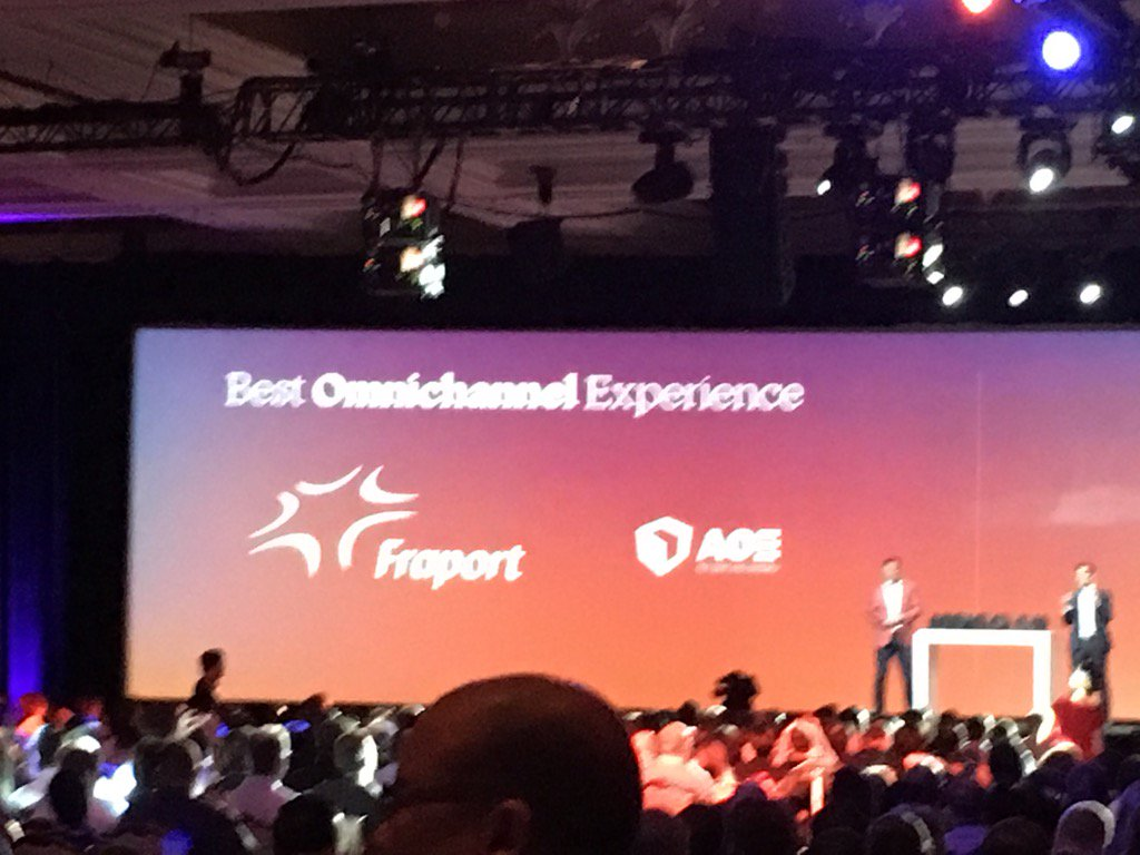 YoavKutner: Great to see @OroCRM partner @aoepeople get award at #MagentoImagine for a project that involves #orocrm https://t.co/1eCLHNM1jG