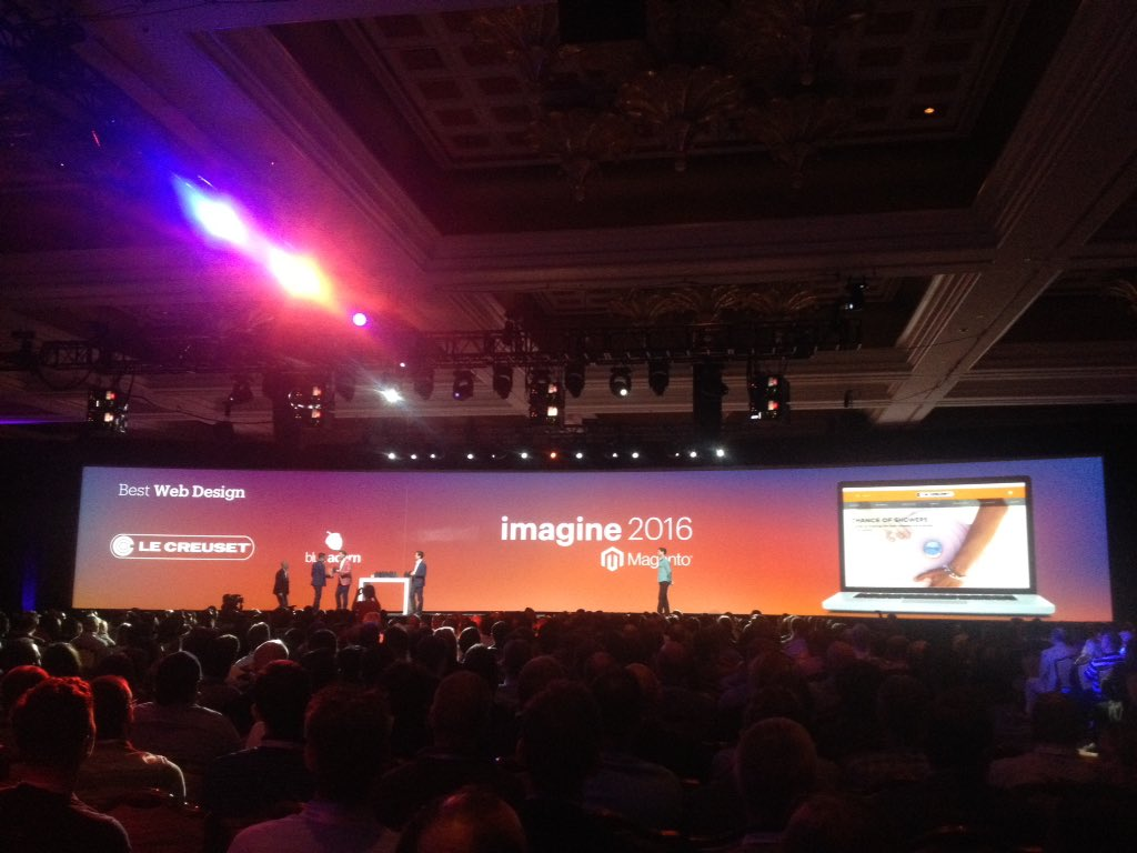thisisnoticed: #MagentoImagine 2016 awards - best web design https://t.co/3Bc6ZMRlZH