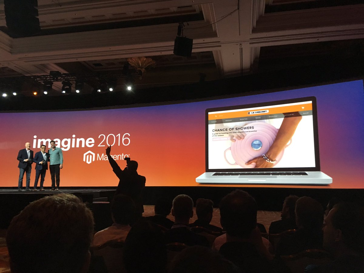 altima_na: Congrats @lecreuset on you webdesign award #MagentoImagine https://t.co/EHG9InG0ER