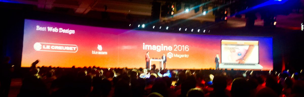 benmarks: So proud of my former colleagues at @blueacorn - esp @victorbejar - for #MagentoImagine 2016 Best Web Design award! https://t.co/b2XYZNfPb5