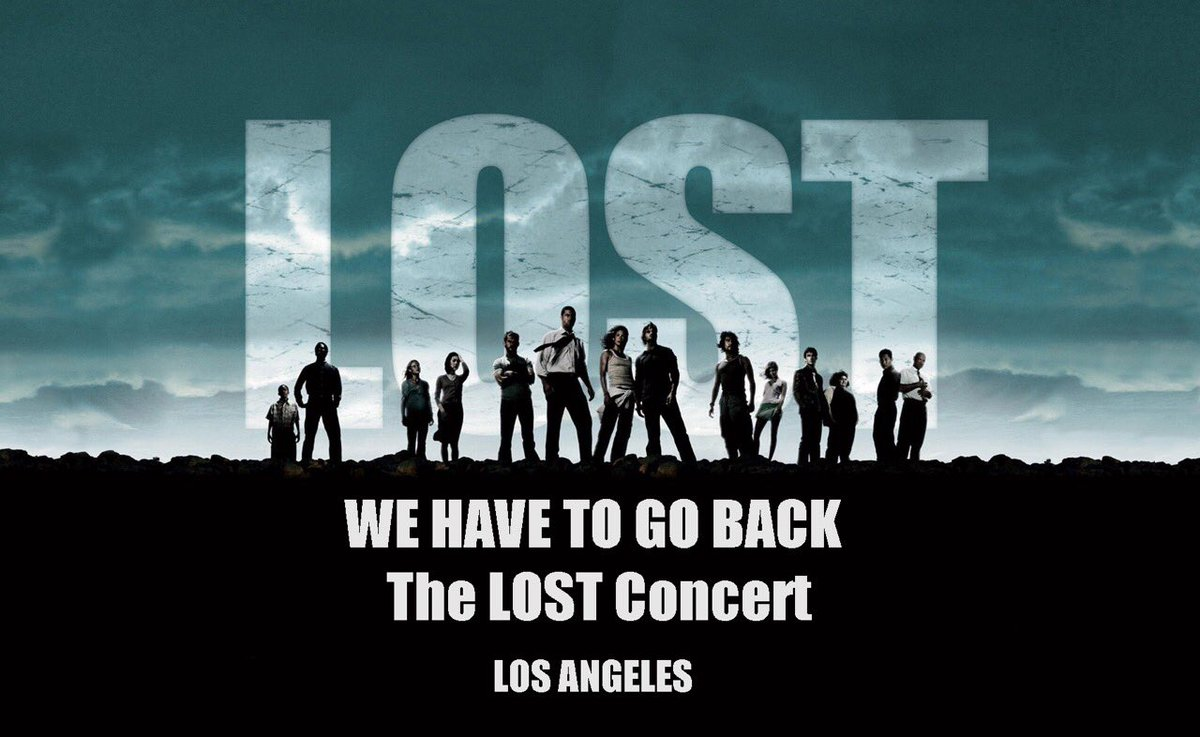 Tickets go on sale in ONE week for WE HAVE TO GO BACK The LOST Concert in LA.   #wehavetogobackconcert https://t.co/pRIIiKDlE2