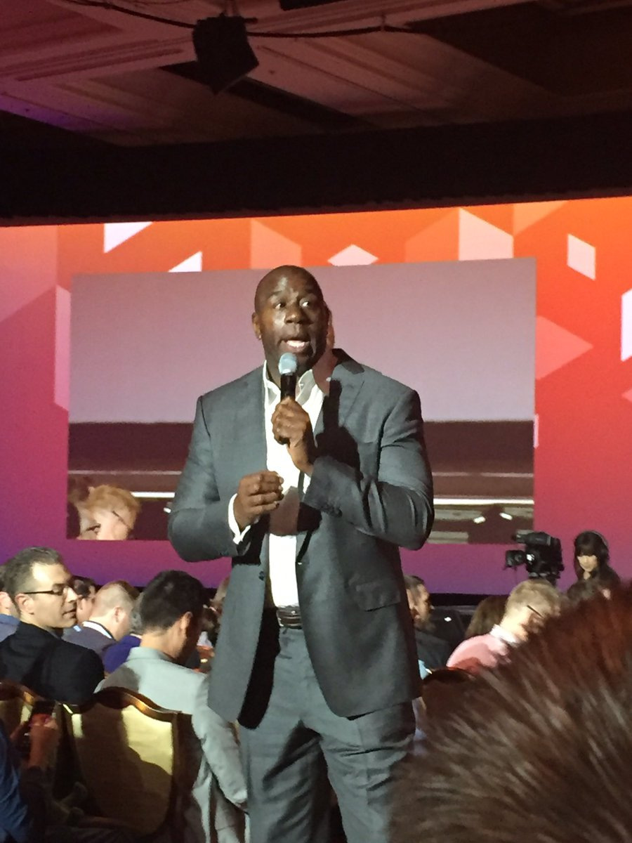 BertrandDumast: Magic Johnson Time #MagentoImagine #magento #ecommerce https://t.co/fzB1wKVYaF