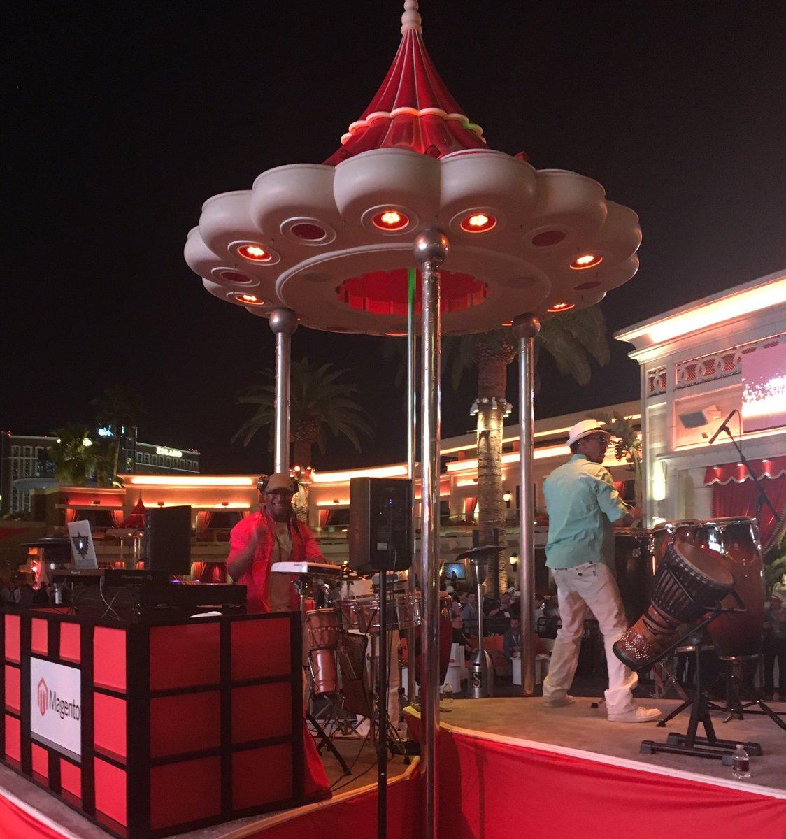 magento: The festivities have begun at the Legendary Imagine Evening Event at the Encore Beach Club. #MagentoImagine https://t.co/fFye0Osviu