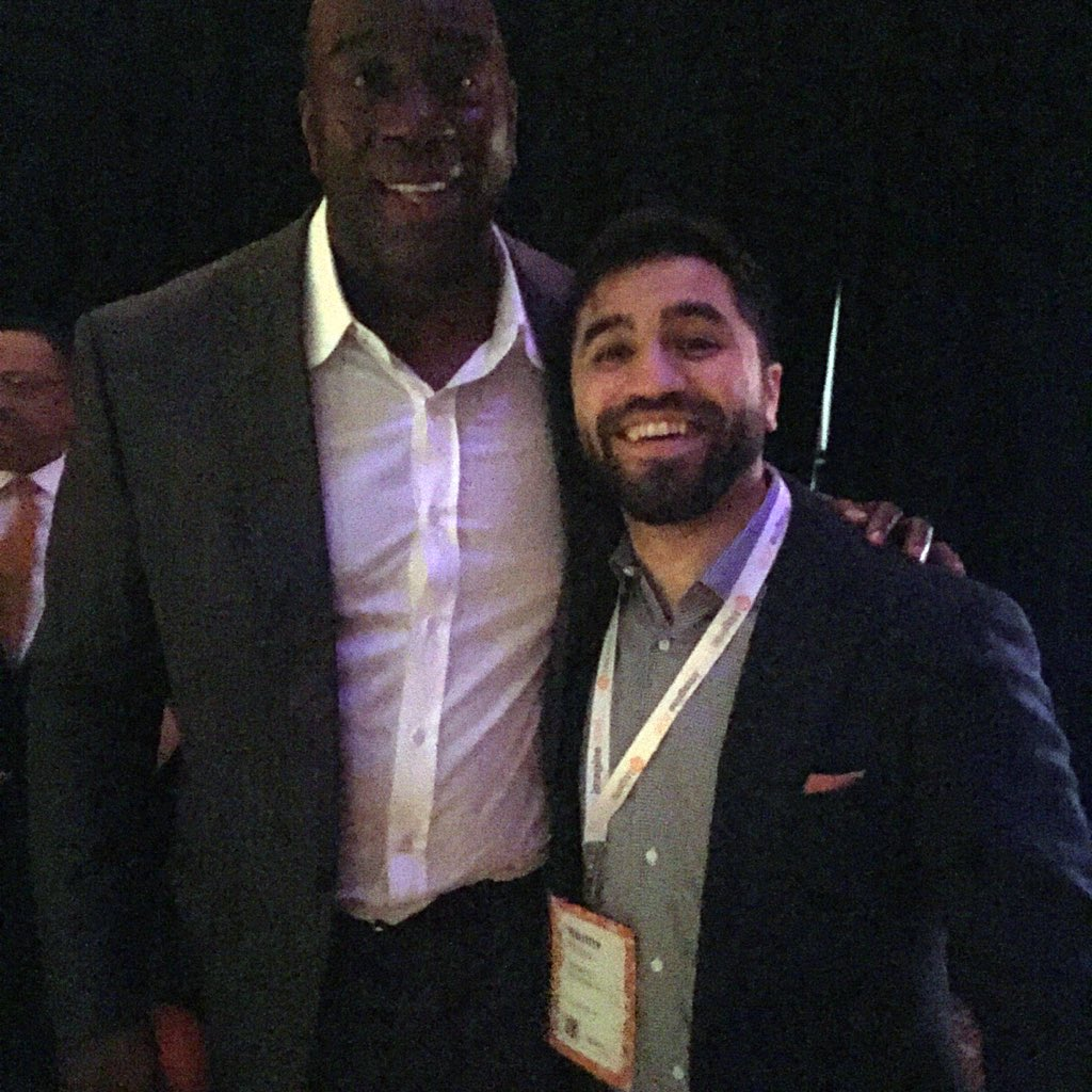KFlogood: This man honestly cares about people, has made caring his life mission. Legendary on & off court. #MagentoImagine https://t.co/DJKHUYI7qM