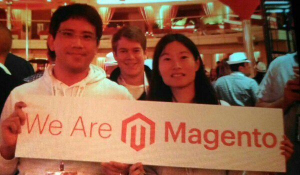 verite_office: The regendary party at #MagentoImagine.nWe are Magento!! w/@hirokazu_nishi, 2016 Magento Master! https://t.co/1v8ewsvrgD
