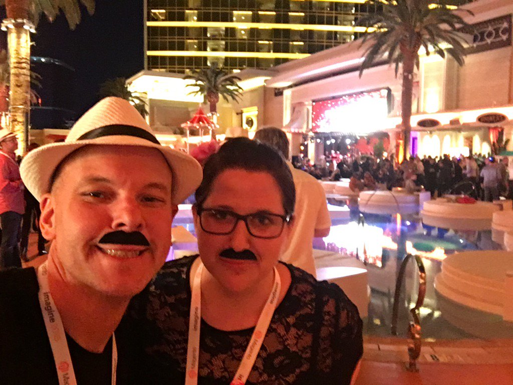 brentwpeterson: Look who I met #MagentoImagine https://t.co/LrlBPeR6LB